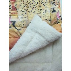 sheepskin blanket 1,8 * 2,15 fur
