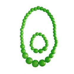 Beads with bracelet green