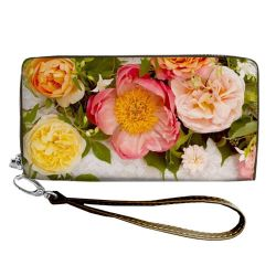 "Clutch - purse ""Peonies"""