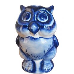 Medium Owl (blue)