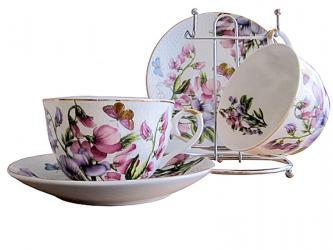 "Tea set 4 ""Magnolia"" devices"