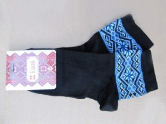 "Embroidered socks ""Blue eyes"""