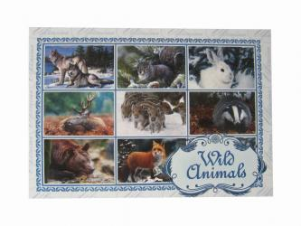 "Postcard ""Wild animals"""
