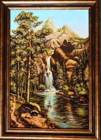 "Picture of Amber ""Mountain river"""